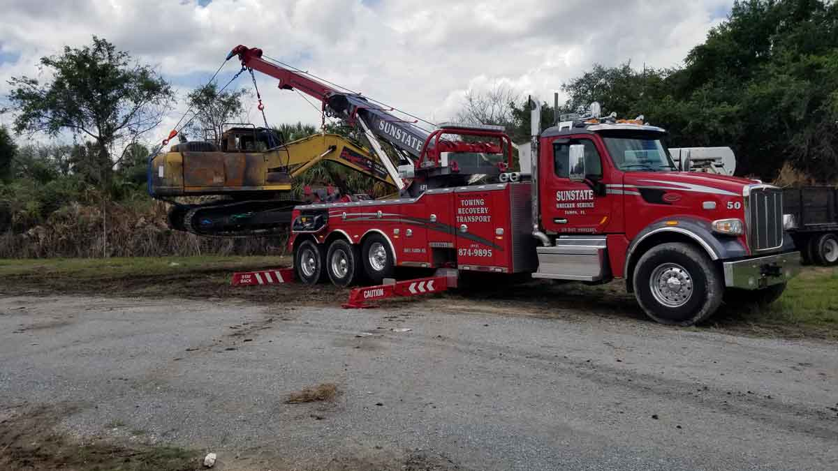 Heavy Truck Accident Recovery Tampa