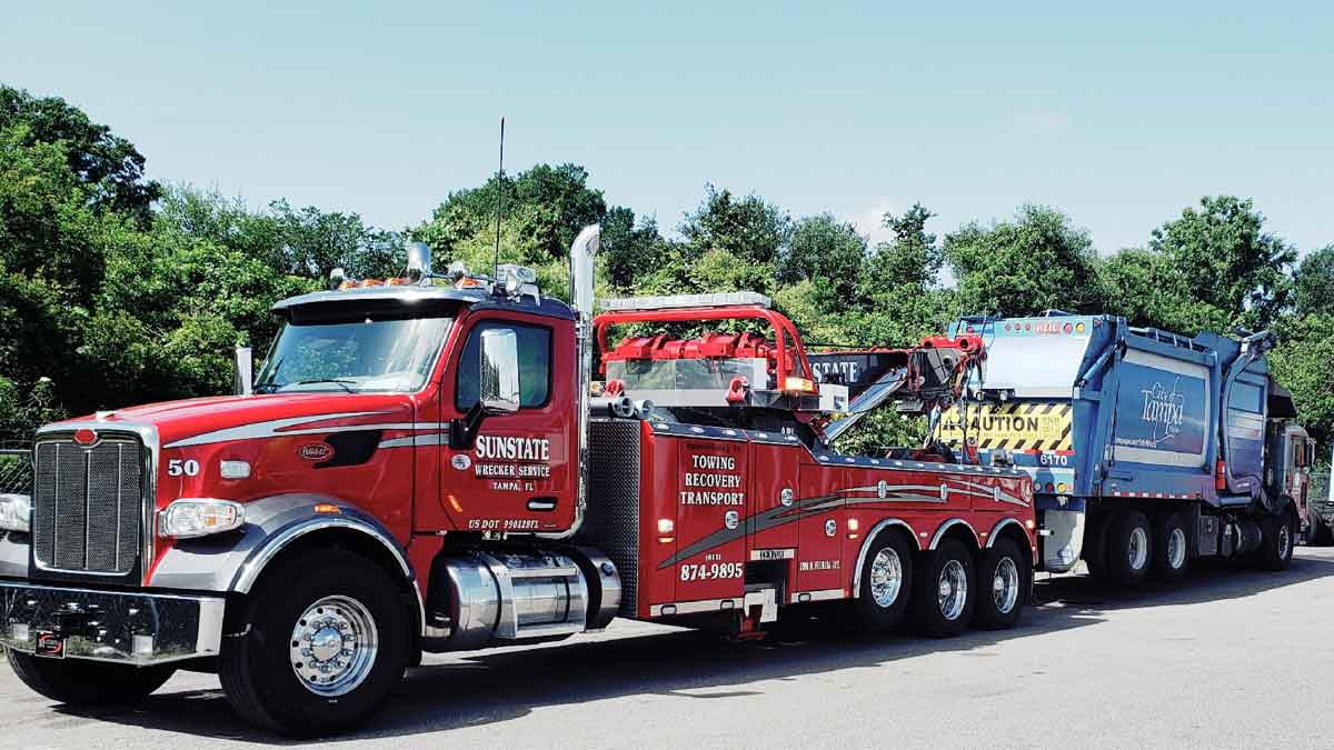 heavy towing tampa heavy hauling tampa sunstate heavy towing tampa
