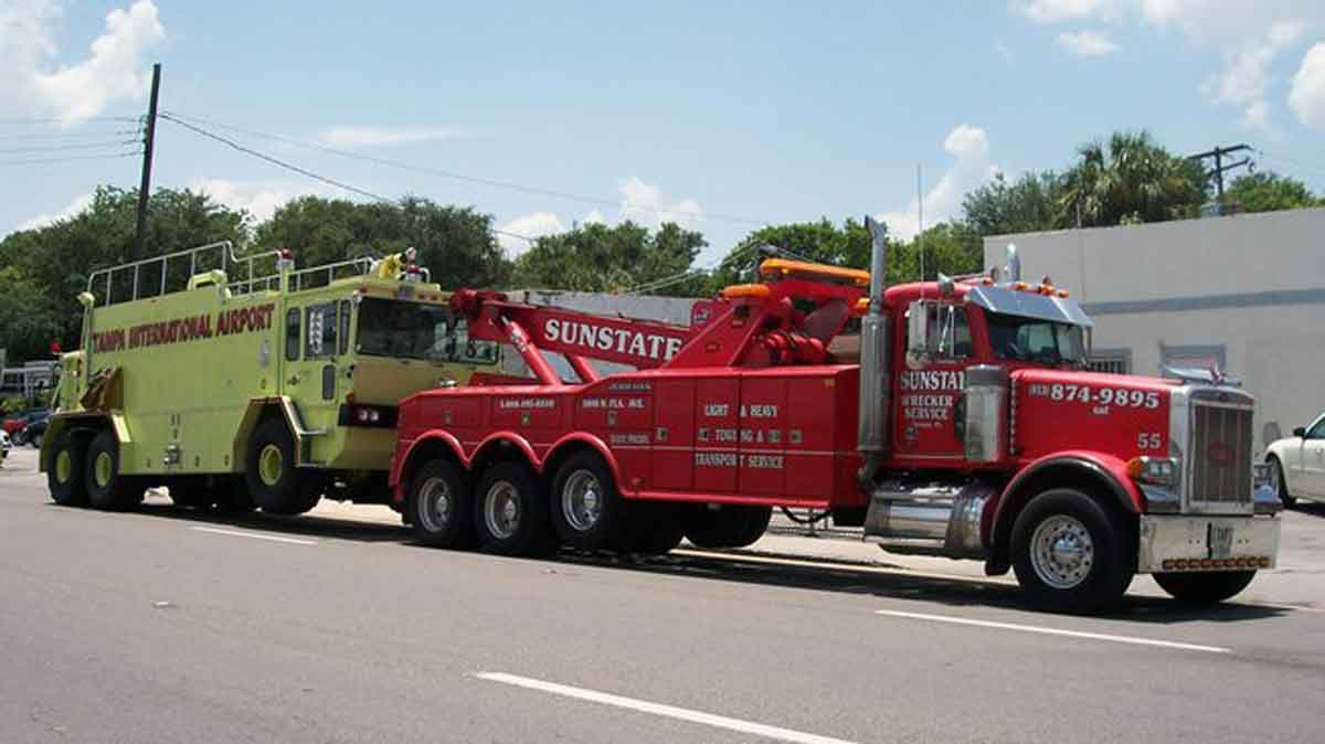 heavy towing tampa